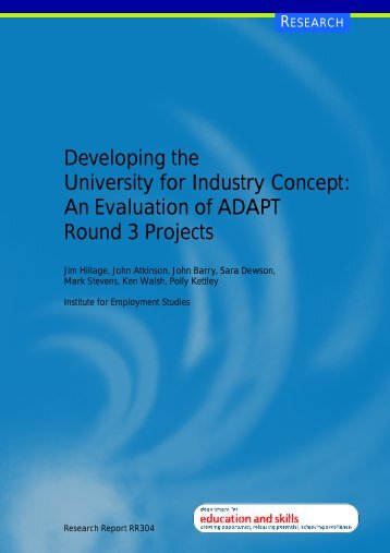 An Evaluation of ADAPT Round 3 Projects - Digital Education ...