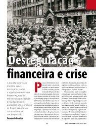 A Grande Depressão mostrou ações necessárias, como a regulação ...