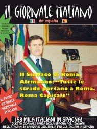 """Il Sindaco di Roma, Alemanno: """"Tutte le strade ... - Il Giornale Italiano"""