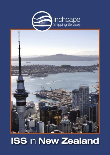 New Zealand - Inchcape Shipping Services