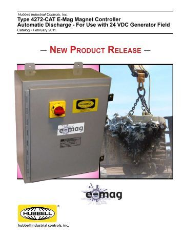 euclid lifting magnet con new product release hubbell industrial controls