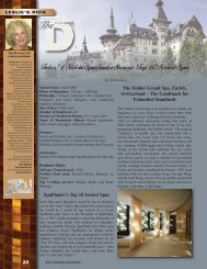 Oct 2009 Leslie's Pick - The Dolder Grand Spa - Spas 2b