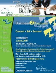 What's Inside - Gahanna Area Chamber of Commerce