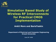 Simulation Based Study of Wireless RF Interconnects for ... - SLIP