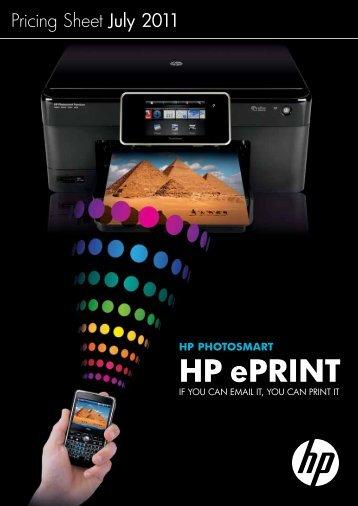 HP ePRINT - HP Belgium & Luxembourg