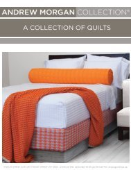 A ColleCtion of Quilts - Andrew Morgan Collection
