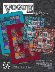 Vogue Pieced Quilt