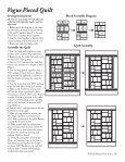Vogue Pieced Quilt - Page 4
