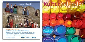 sept okt nov dez 2010 - Kulturforum Schorndorf