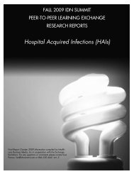 Hospital Acquired Infections (HAIs) - IDN Summit and Expo