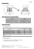 SPECIFICATION FOR ALDER - REGO-Lighting GmbH - Page 3