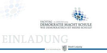 Eine Veranstaltung der - Deutsche Gesellschaft für ...
