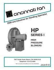 HP, Series I catalog.  - Cincinnati Fan