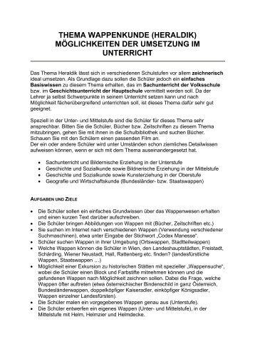THEMA WAPPENKUNDE (HERALDIK) - Burgen und Schlösser