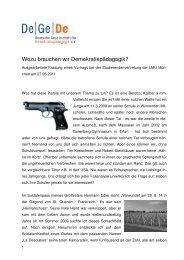 KE Vortrag bei LMU-StudVertr München 27jun11 - Deutsche ...