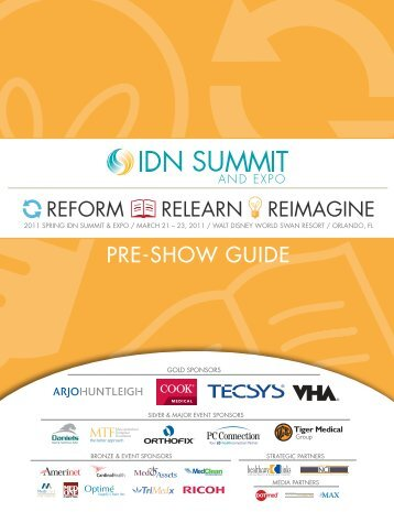 PRE-SHOW GUIDE - IDN Summit and Expo