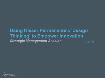 'Design Thinking' to Empower Innovation - IDN Summit and Expo