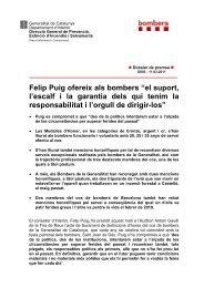 Dossier en pdf - Premsa - Generalitat de Catalunya