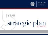 download Strategic Plan - Texas A&M University-Central Texas