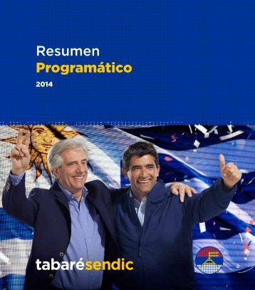 TabaréSendic_programa