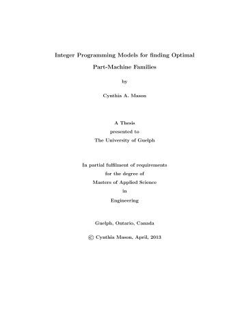 Masters by thesis