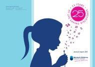 annual report 2011 - Murdoch Childrens Research Institute