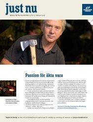 2007 Nr 1 (Passion för äkta vara mm - Norrlandsfonden