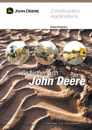 Go further with - John Deere Industrial Engines