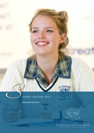 Year 12 Results flyer - Loreto College