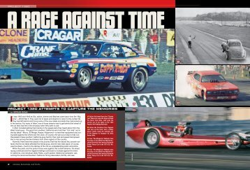 Drag Racing Action - Write Words