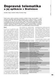 Dopravná telematika - ATP Journal