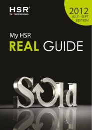 My HSR Real Guide 2nd Issue (July-September 2012)