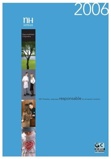 Responsabilidad Corporativa - Logo NH Hoteles - NH Hotels