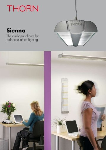 Sienna Brochure - THORN Lighting