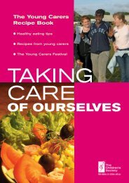 Taking Care of Ourselves - The Young Carers Recipe Book