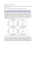 Interannual Variability, Inter-decadal Changes and Trends
