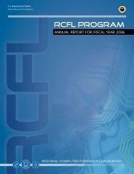 RCFL PROGRAM - Regional Computer Forensics Laboratory