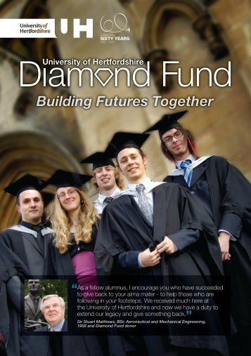 Download The Diamond Fund leaflet - University of Hertfordshire