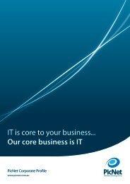 Corporate Profile - PicNet