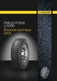 Caractéristiques techniques des pneus Poids Lourd Dunlop - Fleet first