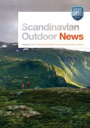 Magazine #2 2010 from Scandinavian Outdoor Group – the top ...