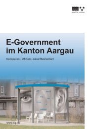 E-Government im Kanton Aargau - SwissCommunity.org