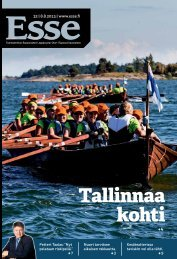 Esse 32/2013 (pdf) - Espoon seurakuntasanomat