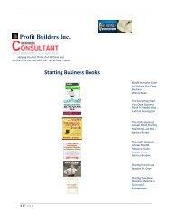 Business Start Up Books - ProsperityBreakThroughs4u.com