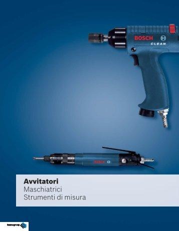 Catalogo avvitatori pneumatici - LeanProducts