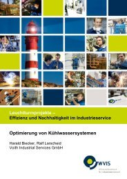 Optimierung von Kühlwassersystemen - WVIS
