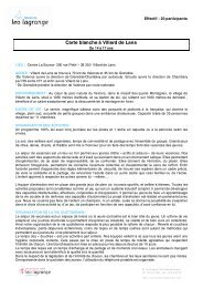 Carte blanche à Villard de Lans - Léo Lagrange
