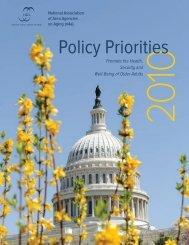 Policy Priorities - n4a