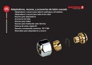 Capítulo 5.pdf - Adaptadores, racores y accesorios de latón roscado
