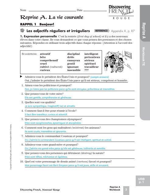 Reprise A La Vie Courante Jflaherty1 Kleinisd Net